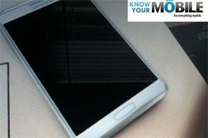 Angebliches Foto des Galaxy Note 2 aufgetaucht.