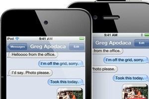 Lieber iMessage als SMS - Apples Reaktion auf eine aktuelle Sicherheitslücke.