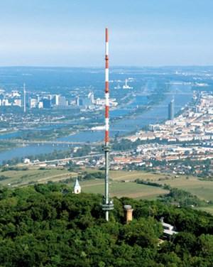 Vom Kahlenberg funken die Großen über Wien - 103,2 vom Raiffeisenhaus am Donaukanal