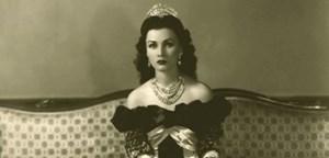 Fawziya, Tochter des ägyptischen Königs Fuad I. und Ehefrau des persischen Schahs Mohammed Reza Pahlavi.