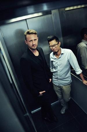 Geschäftsführer Ivica Djurdjevic und Helmut La.