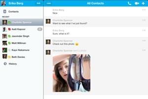 Skype für iOS erlaubt nun die Übertragung von Bildern.