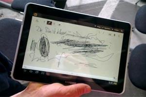 Das Galaxy Tab 10.1N hat den gleichen Digitizer wie das Galaxy Note und Note 10.1.
