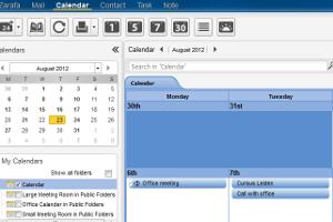 Microsofts Mailserver Exchange hat Konkurrenz bekommen. Seit einigen Jahren fischt die Groupwarehersteller Zarafa in seinen Gewässern. Mit zunehmenden Erfolg, so kommt die gleichnamige Open-Source Lösung in heimischen Schulen, Versicherungen und der Nationalbibliothek zum Einsatz. Das Geheimnis: Zarafa ermöglicht auch die Nutzung aller Funktionen von MS-Outlook.
