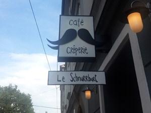 Auf dem Weg zum Santner begegnete dem Fidler in Graz dieses schön benannte, aber nicht verkostete Café.