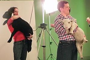 Tierärztin Katja Graf berichtet von Dreharbeiten, die vor einigen Monaten stattgefunden haben.