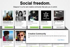"""Social freedom. Das Projekt """"Diaspora"""" wird nun zur Gänze der Open Source Community überlassen."""