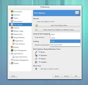 GTK+2-Anwendungen passen sich dank neuem Theme nun besser in den restlichen Desktop ein.