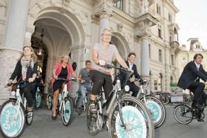 Graz Bike erweitert  einen existierenden Verleihpool um neue Räder in einheitlichem Design und ein Echtzeit-Verleih-System.