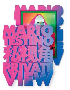 """Mario Testinos jüngstes Buch """"Private View"""" ist soeben bei Taschen erschienen."""