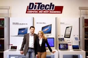 DiTech-Gründer Damian Izdebski und Aleksandra Izdebska