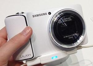 Die Galaxy Kamera ist Samsungs erste Digicam mit Android.