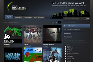 Steam Greenlight: Valve lässt Fans bei Spiele-Angebot mitbestimmen