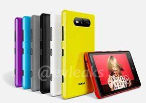 Das Lumia 820 kommt in zahlreichen Farben und glänzender Oberfläche