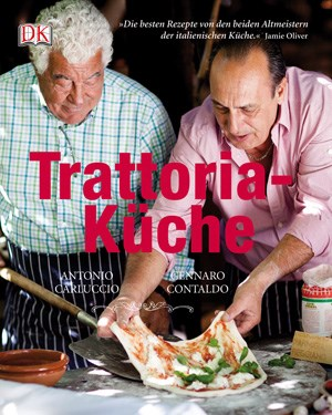"""... oder Antonio Carluccio und Gennaro Contaldo mit der """"Trattoria-Küche""""."""