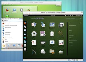 Das Software Rendering der Lllvmpipe ermöglicht die Nutzung der GNOME Shell auch ohne spezielle Treiber in einer virtuellen Maschine.