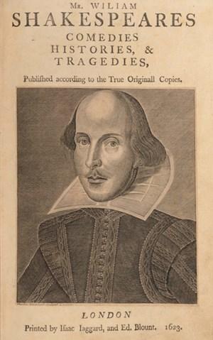 William Shakespeare (April 1564 - April 1616).