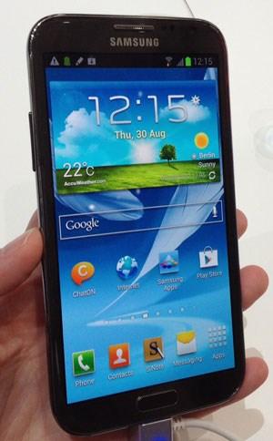 Samsung hat auf der IFA das Galaxy Note 2 vorgestellt.