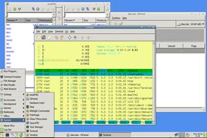 Die SystemRescueCd 3.0 mit grafischer Xfce-Oberfläche und einigen Tools