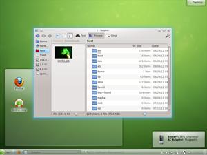 Der File Manager Dolphin hat mit der neuen Version einige wichtige Verbesserungen erfahren, etwa eine vollständig neu geschriebene Dateiansicht.