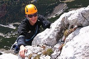 Hasibeter findet in den Bergen den Ausgleich zu seinem Job als Landarzt.