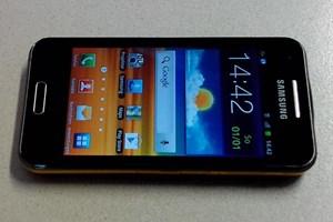 Projektor-Phone von Samsung: Das Galaxy Beam.