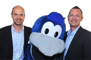 V.l.n.r.: Stefan Piech, CEO Your Family Entertainment und Josef Almer, Geschäftsführer vom Vermarkter Goldbach Media.