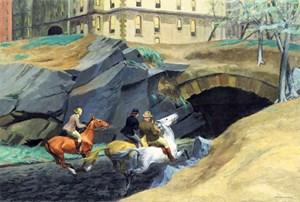 """""""Bridle Path (Reitweg)"""" gelangte im Mai 2012 in New York zur Auktion, als erstes Gemälde seit sechs Jahren."""