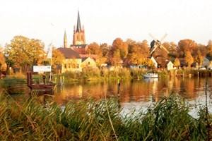 """""""Havelperle"""" wird das kleine Städtchen Werder im Westen der Hauptstadt genannt."""