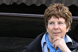 Hat einen Roman über einen Mann am Nullpunkt der Niederlage geschrieben: Sylvie Schenk.
