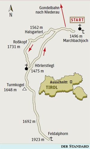 Gesamtgehzeit 6 Stunden,  Höhendifferenz fast 1000 m. Holzalm in der Saison geöffnet,  Gaststätten bei der Bergstation. Die Gondelbahn ist bis zum  14. Oktober täglich zwischen  9 und 12 sowie zwischen 13 und 17 Uhr in Betrieb. ÖK25V Blatt 3213-West (Wörgl) und 3219-West (Gerlos), Maßstab 1:25.000; Wanderkarte Wild schönau, Maßstab 1:35.000Info: TVB Wildschönau, Kitzbühel
