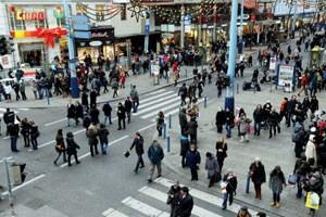 Ein Teil der Wiener Mariahilfer Straße soll nun definitiv zur Fußgängerzone werden.