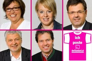 """Da ging es im Forum heiß her: ORF-""""Sommergespräch"""" mit Heinz-Christian Strache. Zu Gast im Forum:Sabine Oberhauser (SPÖ)Bettina Rausch (ÖVP)Gerhard Deimek (FPÖ)Karl Öllinger (Grüne)Rainer Widmann (BZÖ)"""