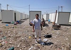 Eine der Containersiedlungen rund um Belgrad wurde auf einer ehemaligen Mülldeponie errichtet.