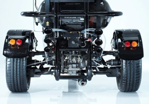Biopower aus einem 300-ccm-Motor.