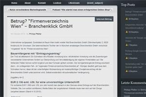 Pfallers Blogpost bescherte ihm eine 82.000-Euro-Klage.