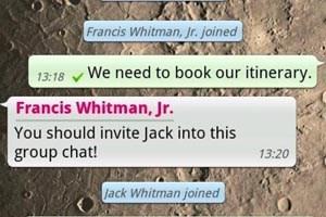 WhatsApp: Messenger nutzt zu simple Passworterstellung.