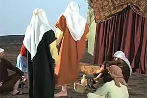 In der Mitte: Prophet Mohammed, den man laut islamischem Recht eigentlich nicht abbilden darf.