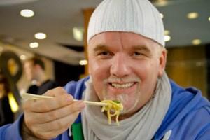 Das Testimonial DJ Ötzi soll den Österreichern die Nudelvariationen à la McDonald's schmackhaft machen.