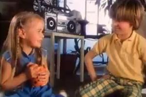 Niki Ernst einst in der Bawag-Werbung.