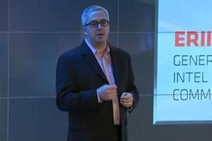 Erik Reid, Manager des Mobilkommunikations-Segments von Intel.