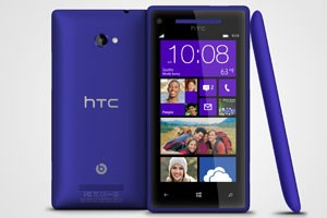 "Windows Phone 8X in ""California Blue"""