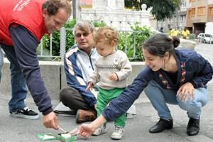 Die angebliche Aktion am Siebenbrunnenplatz: Die Stadt Wien soll hier die Spenden an die Bettler verdoppelt haben.