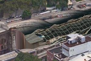 """Apples 3D-Maps sind """"eine apokalyptische Horror-Show"""" (Gizmodo)."""