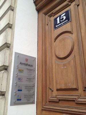 Wien 1, Neutorgasse 15: Hier residieren ...