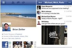 Facebook hat seine Apps für iOS und Android aktualisiert.