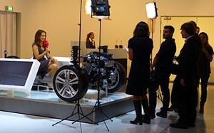 Der technische Unterbau für den A3 Sportback TCNG - fährt mit Erdgas, das CO2-neutral erzeugt werden kann.