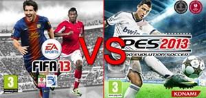 """""""FIFA 13"""" oder """"PES 2013"""", welches Spiel ist ihr Favorit?"""