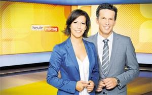 """""""Das ist Österreich"""": Ute Pichler und Martin Ferdiny moderieren Mittags- und Vorabendchronik im ORF."""