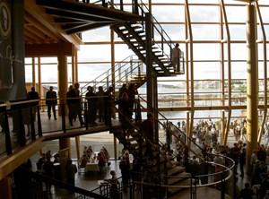 Das Foyer der Sibelius Hall.